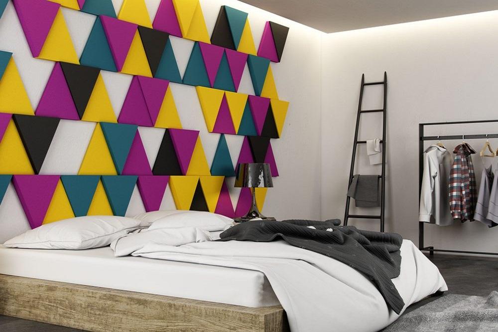 3 D Akustik Duvar Panelleri